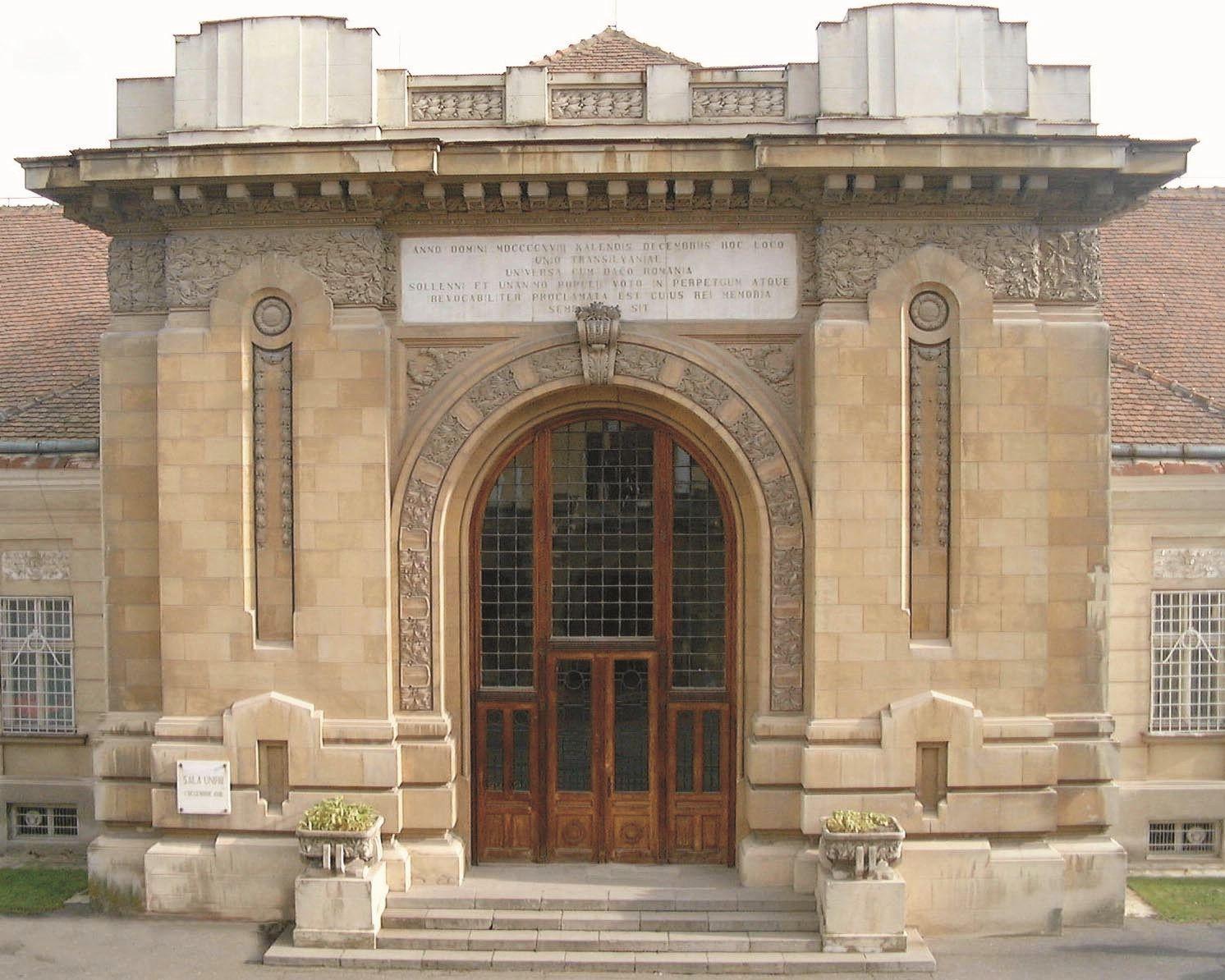 Sala Unirii, Alba Iulia