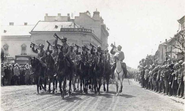 În anul 1918, după ce a sfinţit primul drapel tricolor românesc, armata românilor din inima imperiului austroungar, a alungat comunismul din trei ţări: Austria, Ungaria și Cehoslovacia