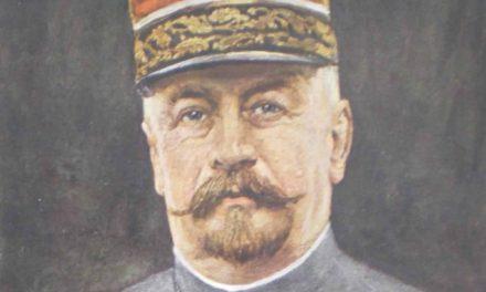 Generalul Henri Berthelot la Alba Iulia, la 1 ianuarie 1919