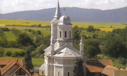 """Lansarea cărții """"Monografia parohiei ortodoxe române Săliștea (Cioara)"""", autor pr. Dragosin Oană"""