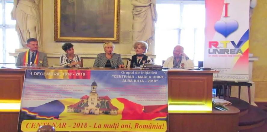 """Grupul de Inițiativă a reprezentat cu cinste Alba-Iulia la sărbătoarea """"Centenarului Marii Uniri"""" de la Viena"""