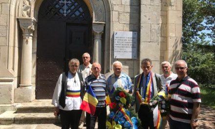 Delegația Grupului de Inițiativă și-a îndeplinit cu succes acțiunea de comemorare a eroilor români căzuți în războiul pentru Independența de stat a României, 1877-1878