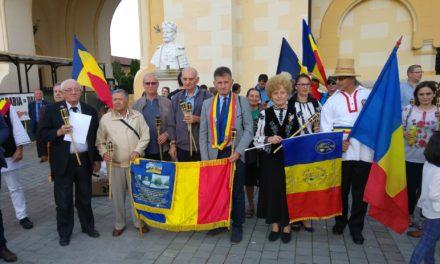 Reprezentanți ai Grupului de Inițiativă au participat la startul Marșului Centenarului, Alba Iulia – Chișinău