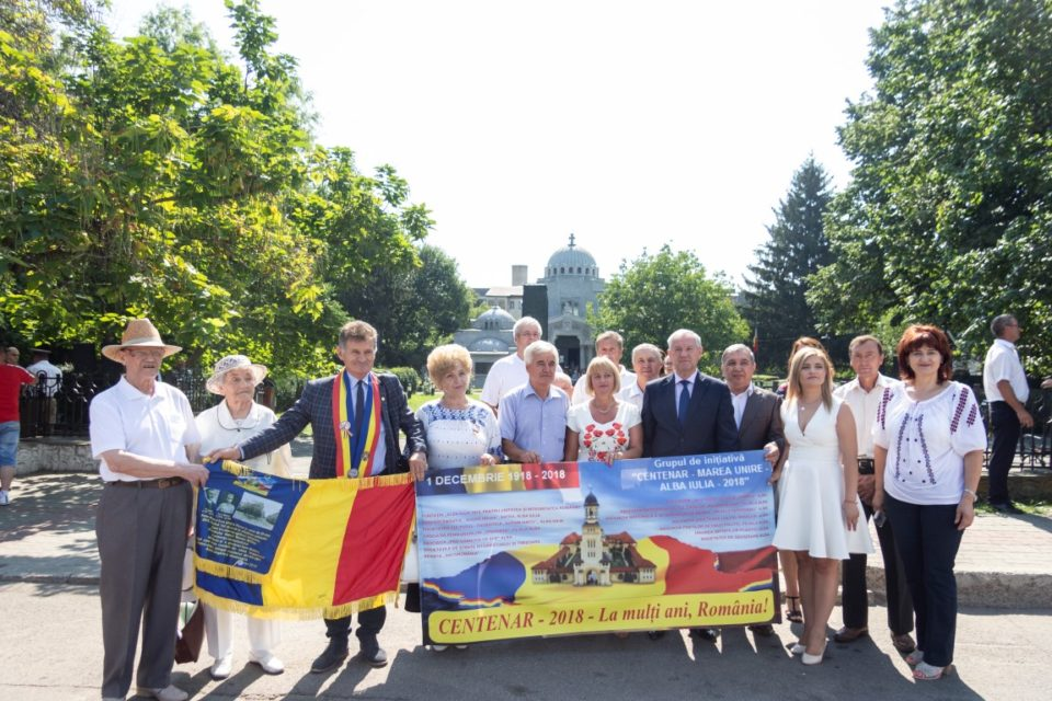 Tricolorul sfințit la Viena, în Focșani pentru omagierea eroilor români