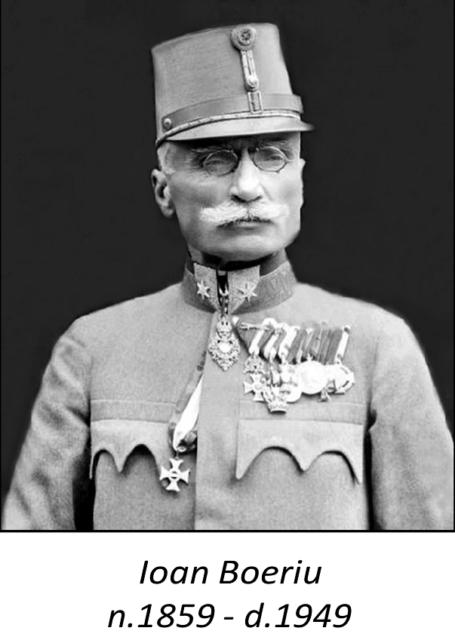 IOAN BOERIU, primul general român al Transilvaniei