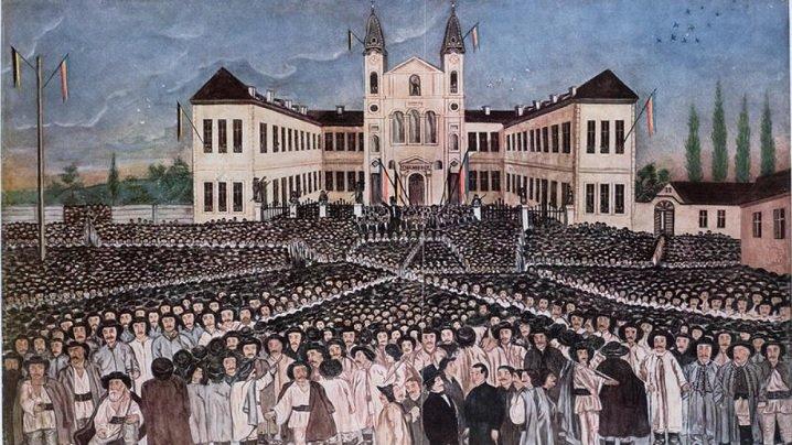 30 aprilie 1848: Are loc la Blaj prima adunare politică a românilor din Transilvania, pe Cîmpia Libertăţii