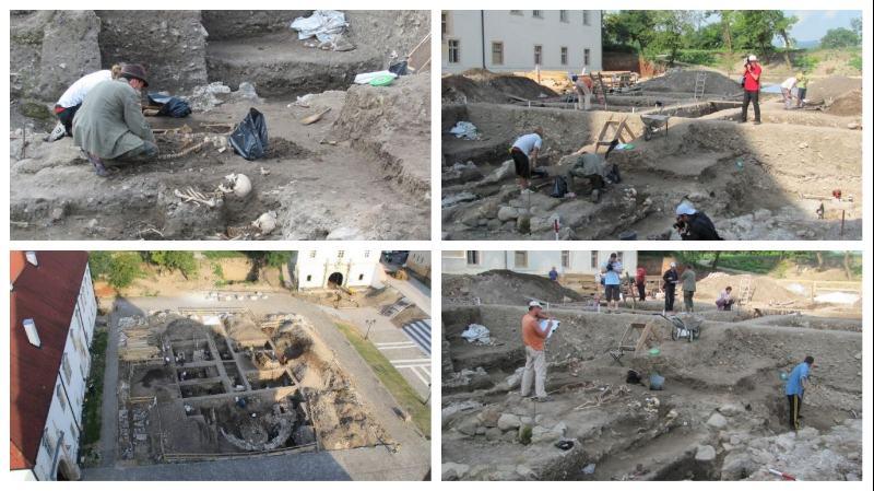 Senzaționale descoperiri arheologige: Biserica lui Ierotei de la Alba Iulia