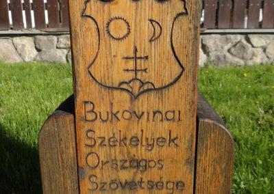 28. Numele Bucovina langa monumentul de la Siculeni