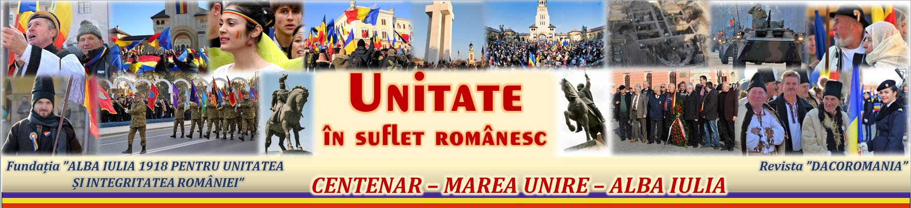Unitate în suflet românesc