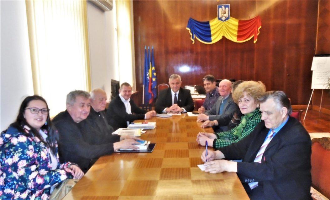 Întâlnire la Instituția Prefectului Alba