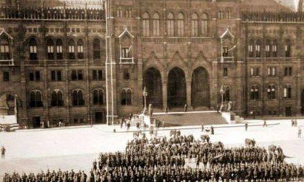 4 august 1919 – ZI ISTORICĂ pentru România Mare. Armata română ocupă fără lupte Budapesta, în cadrul războiului româno-ungar