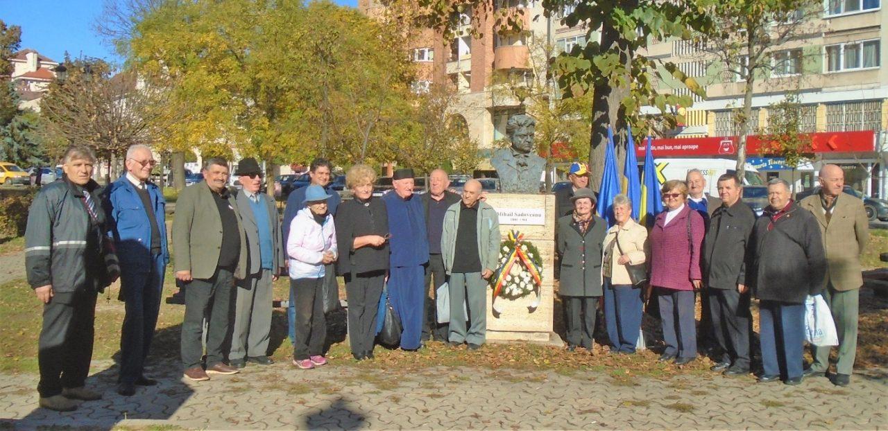 Marcând 139 de ani de la nașterea scriitorului Mihail Sadoveanu și 9 ani de la trecerea în veșnicie a poetului Adrian Păunescu