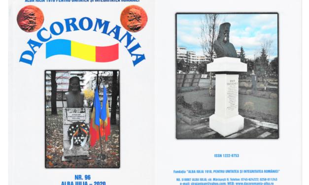 """A apărut numărul 96 al Revistei """"DACOROMANIA"""""""