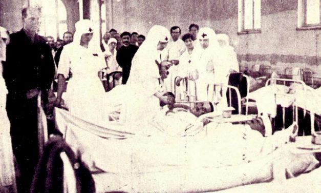 Gripa spaniolă  de la sfârșitul primului război mondial
