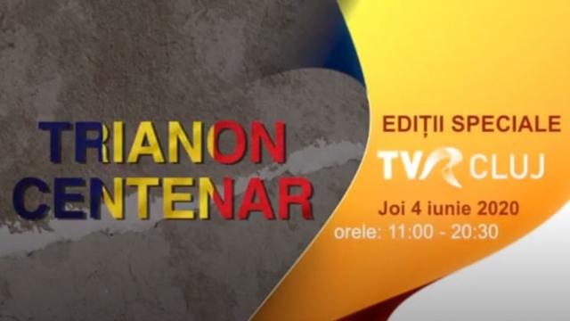 O emisiune maraton de referință realizată de TVR Cluj la Alba Iulia și Cluj,  cu ocazia evocării centenarului Trianon 1920-2020