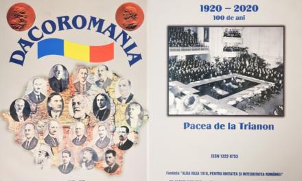 """A apărut nr. 97 al revistei DACOROMANIA,  Editată de Fundația """"Alba Iulia 1918 pentru Unitatea și Integritatea României"""""""