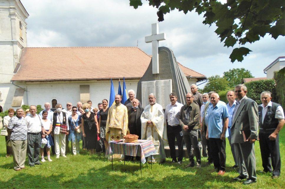 Parastas de pomenire În amintirea sacrificiului suprem al martirilor albaiulieni, zona Lipoveni, din timpul Revoluției Române de la 1848-1849