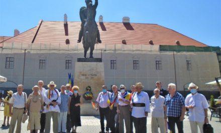 La Alba Iulia, comemorarea Voievodului Mihai Viteazul la 419 ani  de la uciderea mișelească care a avut loc pe Câmpia din Turda,  în 9/19 august 1601,  la ordinul generalului Basta, conducător al forțelor habsburgice
