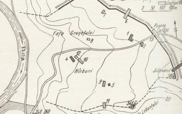Cetatea dacică de la Teleac, comuna Ciugud, județul Alba așteaptă să fie cunoscută la valoarea ei