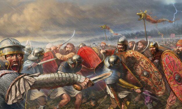 Extinderea frontierei romane pe linia Rhin-Dunăre-Eufrat